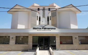 Marina Apartments Palmanova Entrance