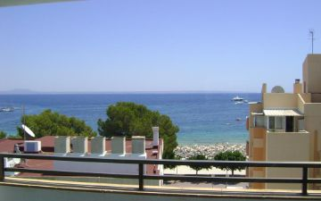 Marina Apartments Palmanova beach view